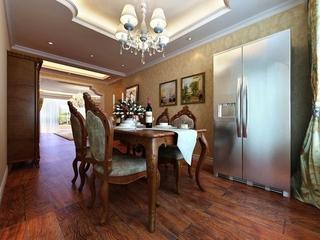 奢华欧式住宅欣赏餐厅餐桌