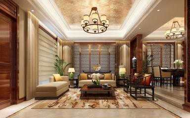 中式奢华大宅设计欣赏