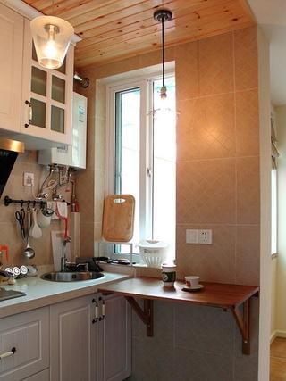 60平温馨田园复式欣赏厨房