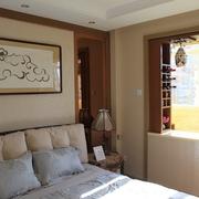 72平老房翻新住宅欣赏卧室效果