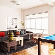 现代单身公寓设计欣赏客厅效果