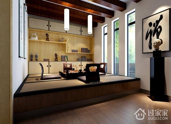 现代休闲复式楼欣赏茶室