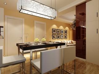 高贵典雅家居 餐厅灯饰效果图