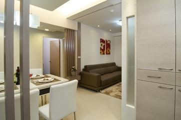 时尚两室一厅住宅欣赏餐厅