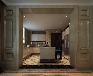 新古典大四居住宅欣赏厨房橱柜设计