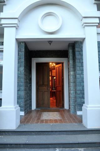 别墅入口门厅效果图