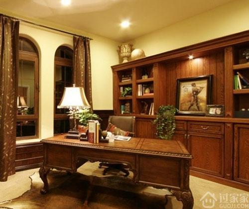 书房装修:欧式书房装修注意事项