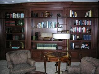 美式风格别墅套图书房
