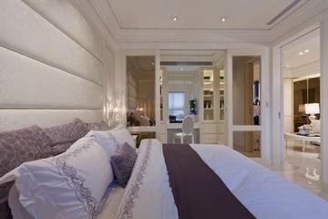62平简约两居室欣赏卧室梳妆台