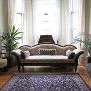 混搭客厅窗帘装饰图 魅力家居