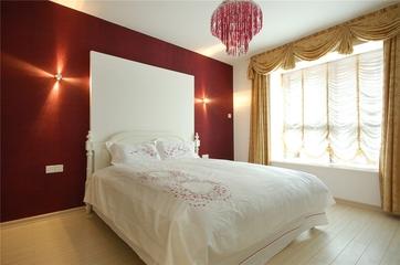 温馨舒适美式田园欣赏卧室