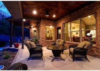 美式风格住宅装饰赏析庭院
