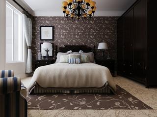 深色简约住宅欣赏卧室设计图