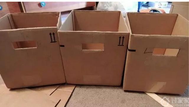 废弃旧箱子改造变成收纳筐,家里有旧箱子的别扔啦!