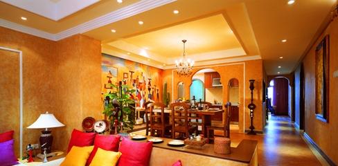 东南亚住宅装饰设计效果套图
