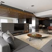 120平现代三室两厅住宅欣赏