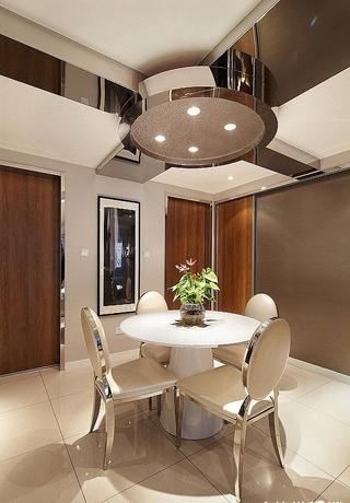 简约生活 餐厅吊顶设计效果图