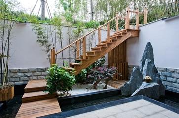 欧式别墅装饰效果庭院