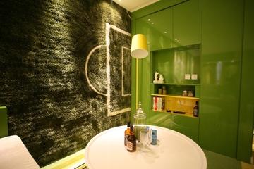 绿色环保简约小屋欣赏客厅设计