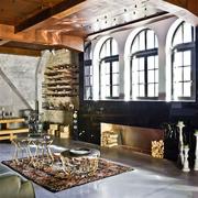 不拘泥现在的复古混搭欣赏客厅设计