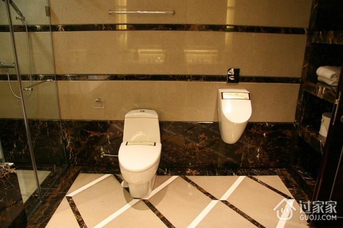 新古典装饰套图卫生间马桶全景