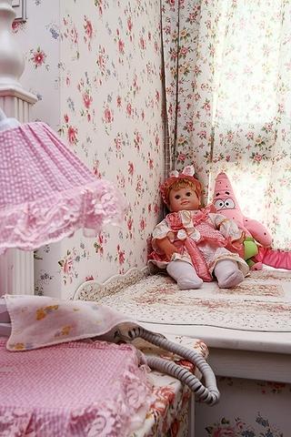 86平地中海三居室欣赏儿童房局部设计