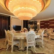 110平简欧三居室案例欣赏餐厅餐桌