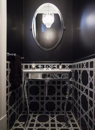 简约住宅三居室欣赏洗手间