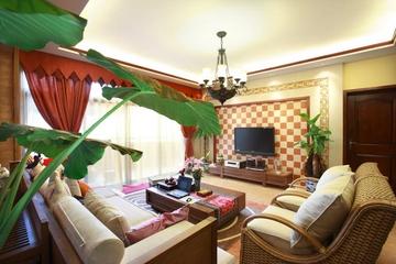 绚丽色彩东南亚住宅欣赏