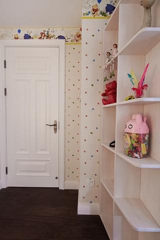 120平美式四居室欣赏儿童房摆件