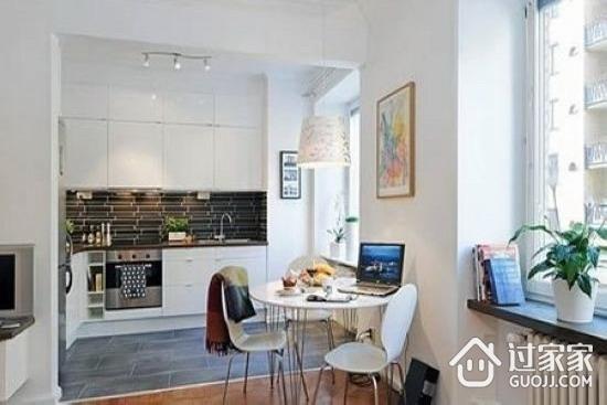 3万9打造40平小户型公寓 纯白vs收纳