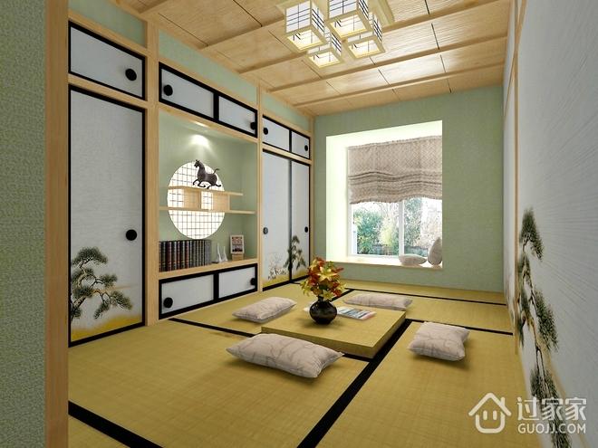 122平现代简约住宅欣赏茶室