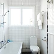 70平北欧一居室欣赏卫生间