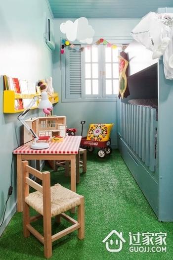 缤纷彩色简约住宅欣赏儿童房