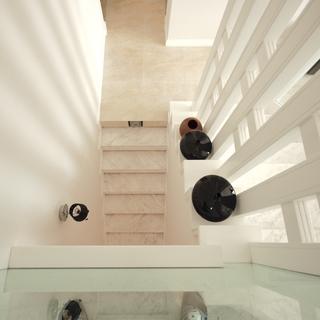 现代简约风格复式楼楼梯设计