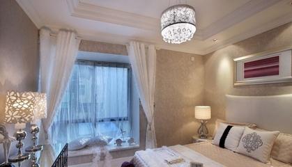 新古典两居室住宅欣赏卧室局部