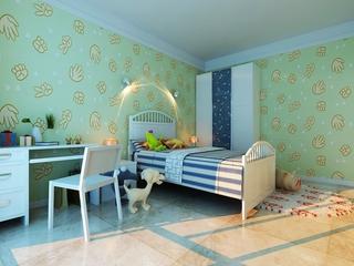简约舒适三居室设计欣赏卧室摆件