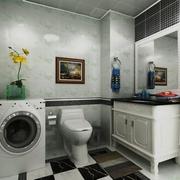 奢华新古典四居室欣赏卫生间局部设计