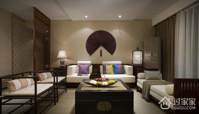 雅致中式三居室案例欣赏