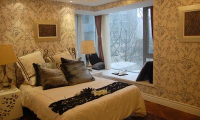 现代套图设计卧室飘窗