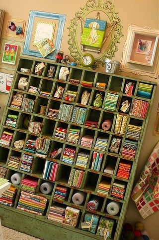 混搭彩色住宅欣赏书房设计