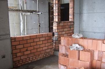 填充墙砌体施工之小型砌块的施工工艺