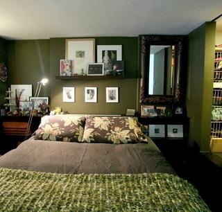 简约小户型复式欣赏卧室陈设
