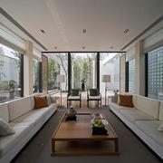 豪华现代风客厅装修效果图