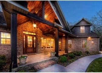 美式风格住宅装饰赏析夜景