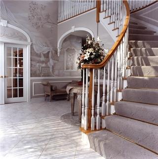 法式别墅装饰套图欣赏楼梯