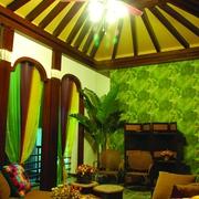 泰式东南亚设计客厅效果