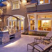 高端大气美式别墅欣赏庭院设计