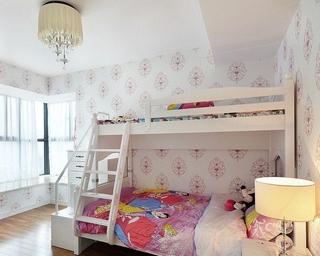 89平简约风格三居室欣赏儿童房