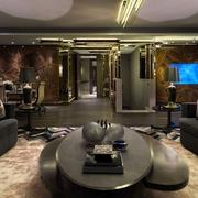 奢华现代风格别墅室内一景